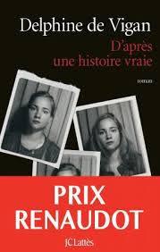 Prix renandaut Delphine de Vigan