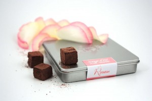 cubes de chocolats songes d'été