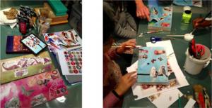 Atelier pour enfant animé par Sophie Barriolade.