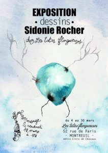 Vernissage Sidonie Rocher