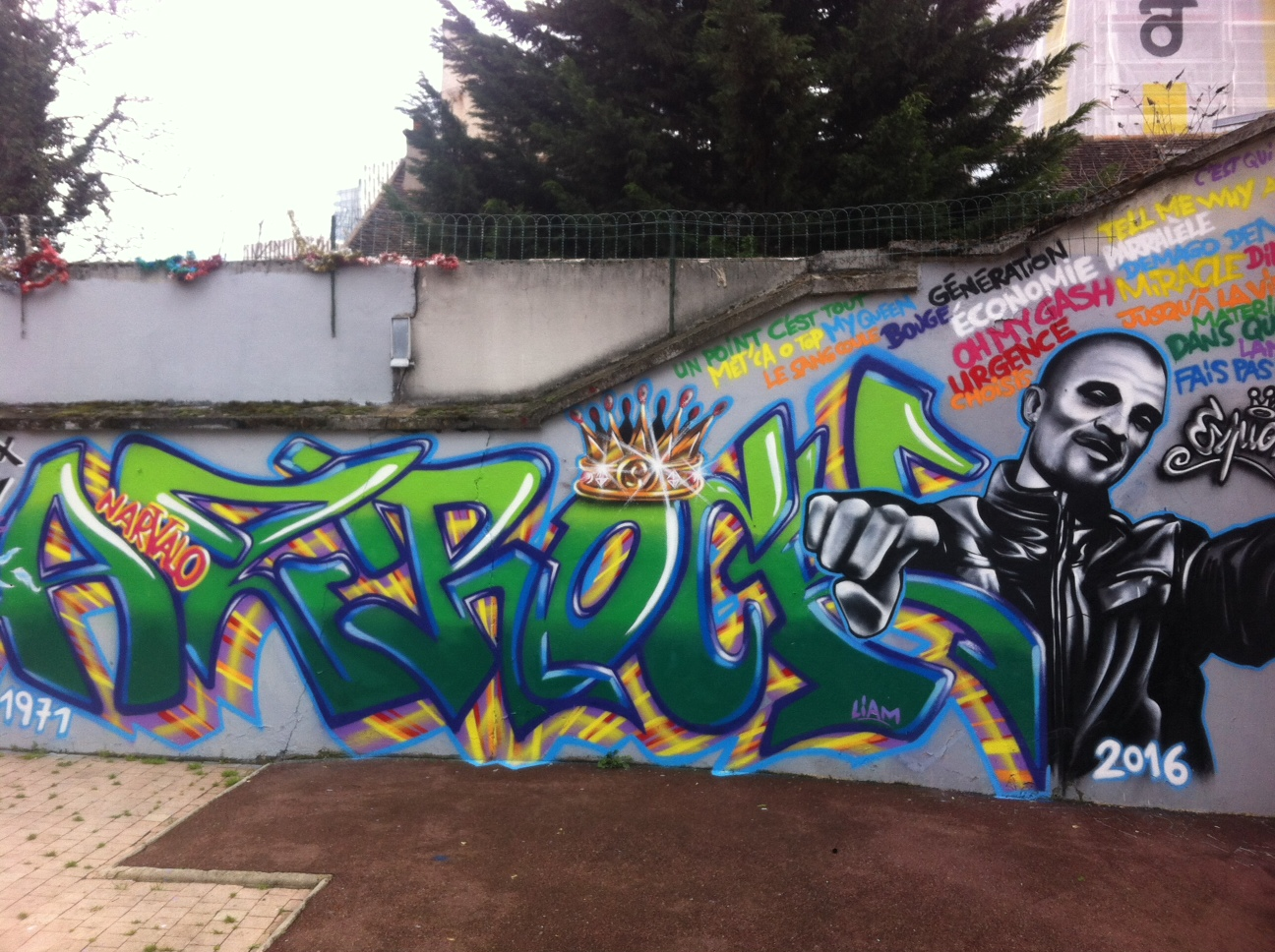 Azrock Hommage by ESPION