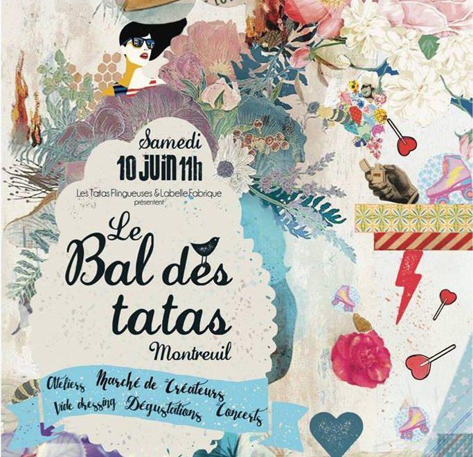Le Bal des Tatas, le 10 Juin ça va swinguer sous la Halle du Marché  !