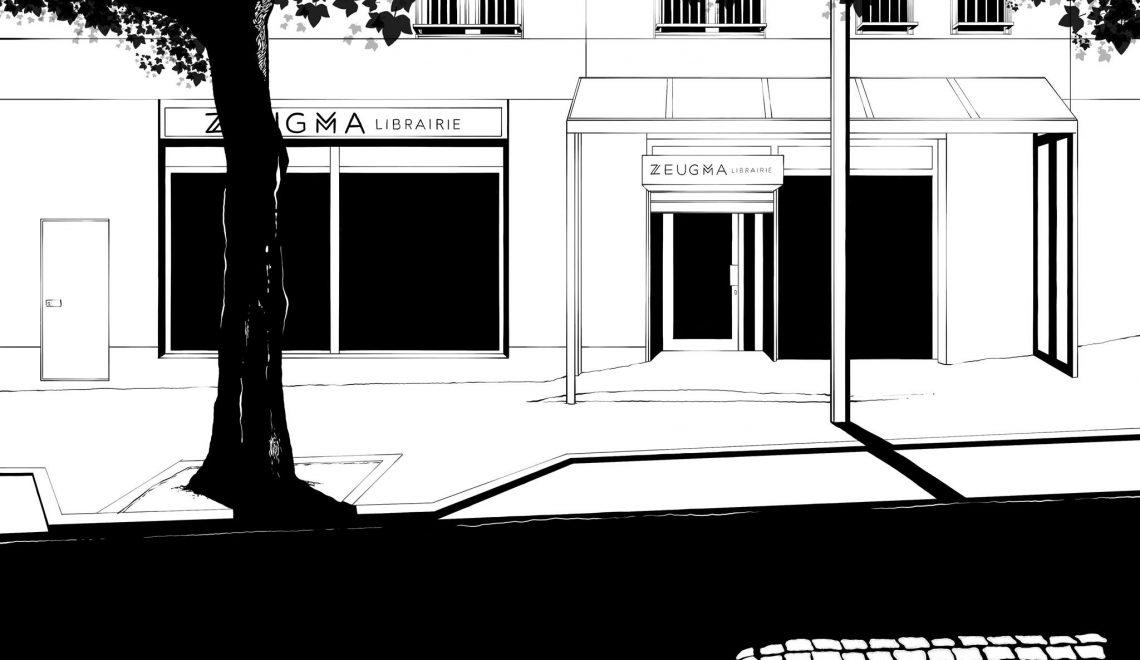 Zeugma, une nouvelle librairie à Montreuil