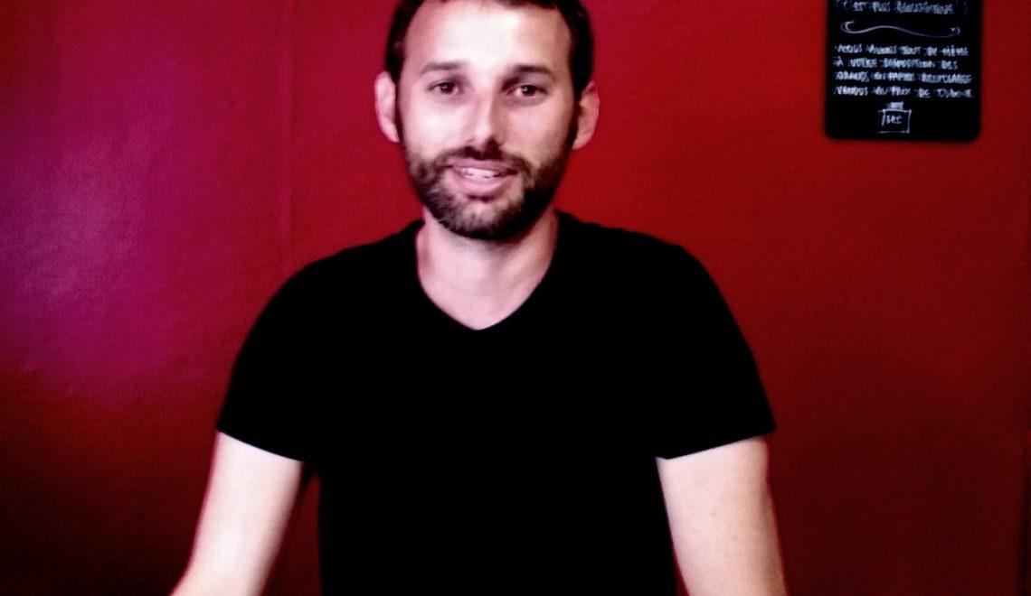 David Rigout, fondateur de 100 bornes à la ronde