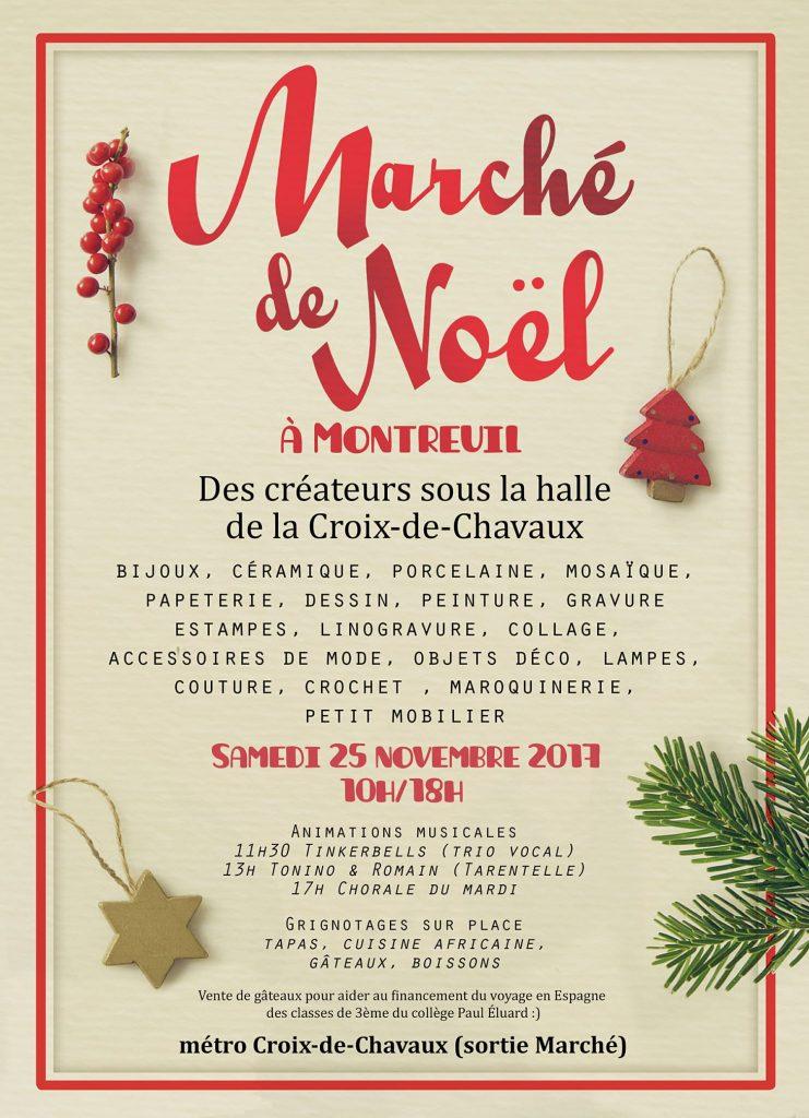 marché de Noël Croix de Chavaux