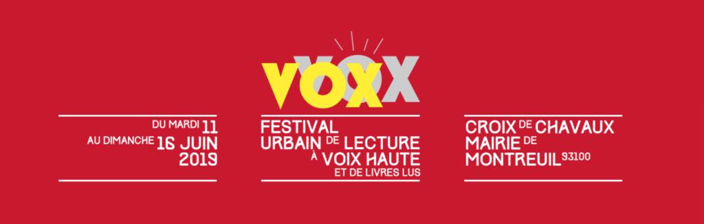 Festival Vox à Montreuil