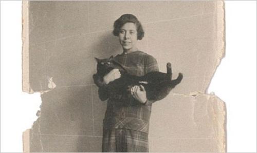 Irène Némirovsky et un chat
